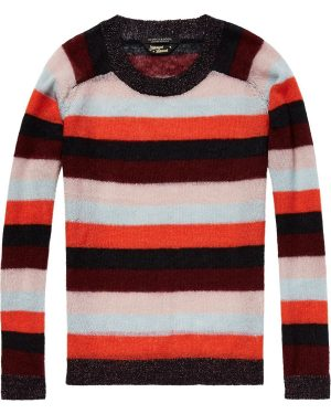 Maison-Scotch-Striped-Mohair-Jumper