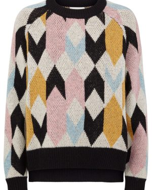Just-Female-Harlequin-Knit