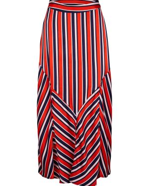 Just-Female-Mynte-Skirt-Fiery-Red-Stripe