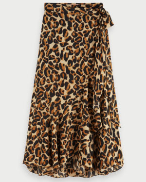 SCOTCH-SODA-LEOPARD-WRAP-SKIRT