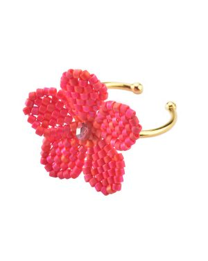 Mishky-Flower-Ring-Red