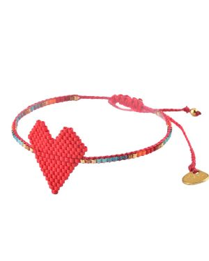 Mishky-Red-Heartsy-Bracelet