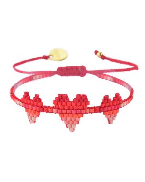 Mishky-Red-Coral-Pink-Bracelet