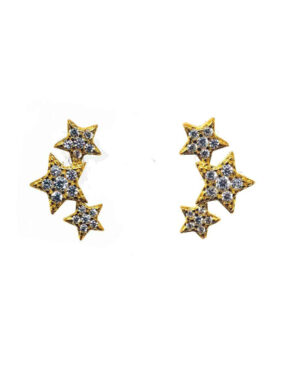 icandi-rocks-triple-star-earrings-gold-1