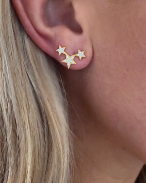 icandi-rocks-triple-star-earrings-gold-2