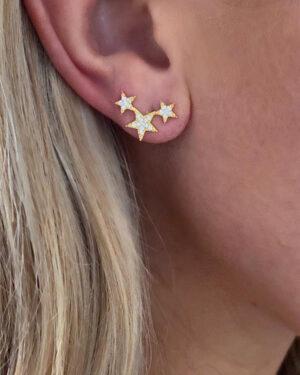 icandi-rocks-triple-star-earrings-gold-2