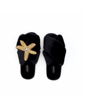 starfish-slippers-black
