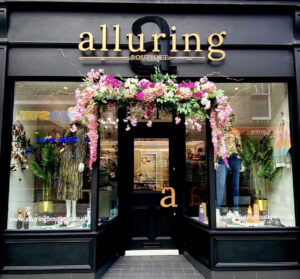 alluring shop front