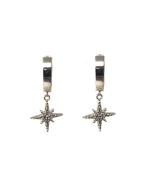 icandi-rocks-valhalla-huggies-silver-earrings-1