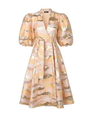 Stine Goya Belinda Dress Horizon Gold