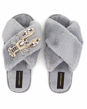 LL-Grey-wth-silver-lobster-slipper