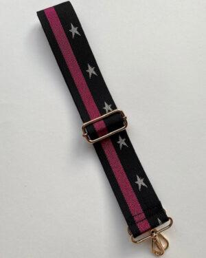 silver-star-fuscia-strap-1