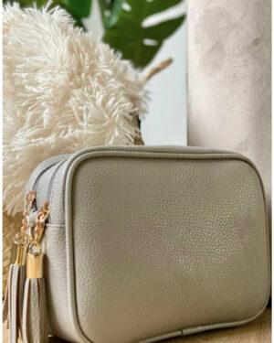 Double-Zip-Bag-Pale Grey