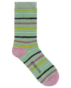 stine-goya-caty-socks-green-stripes-1
