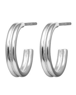 lulu-chunky-hoops-silver-1