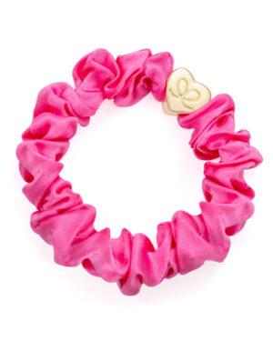 by-eloise-pink-silk-scrunchie