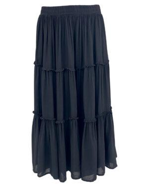 black-colour-ada-boho-dress