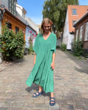 black-colour-ollie-dress-green-1