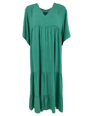 black-colour-ollie-dress-green