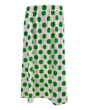 black-colour-polka-skirt-green-1