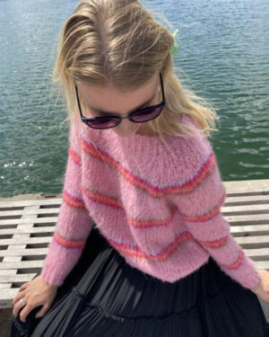 Black-Colour-Candy-Pink-Knit